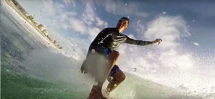 Slick permite ser acoplada em uma prancha de surf, drone e mais (Foto: Divulgação/IndieGogo)