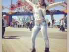 Maria Melilo posa em Coney Island, em Nova York