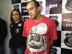 Fábio José dos Reis, 32, confessou o homicídio e diz que agiu sozinho (Foto: Fernanda Borges/G1)