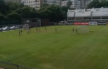 Fluminense faz treino leve com elenco completo no sábado de carnaval