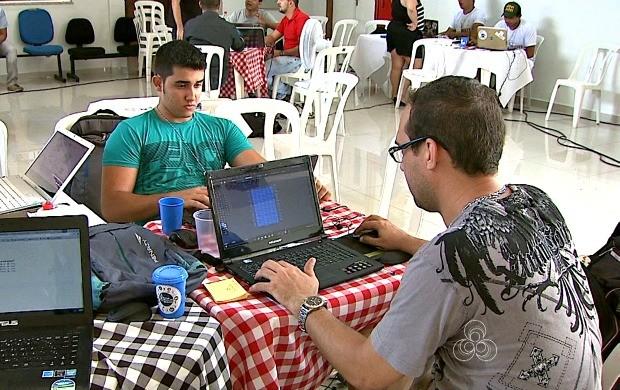 2º Startup Weekend reuniu estudantes e empresários durante 54 horas de evento na capital acreana (Foto: Bom Dia Amazônia)