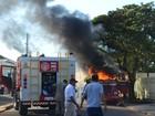 Esposa coloca fogo no caminhão do marido por suspeitar de traição em RO