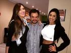 Ex-BBBs Tamires, Adrilles e Amanda almoçam juntos: 'Muita fofoca'
