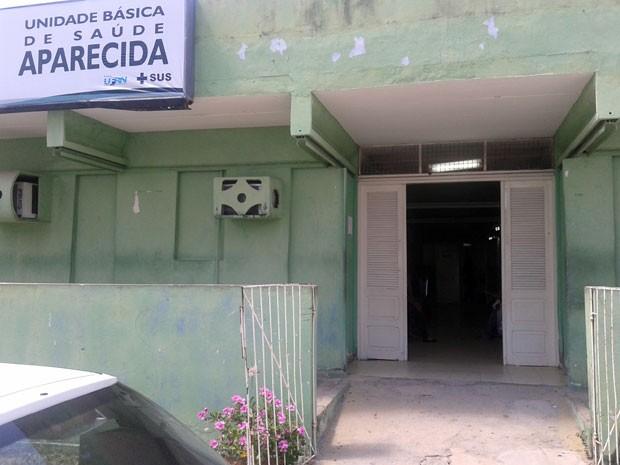 Unidade de saúde do bairro de Mãe Luiza, na zona Leste de Natal (Foto: Divulgação/Sindsaúde-RN)
