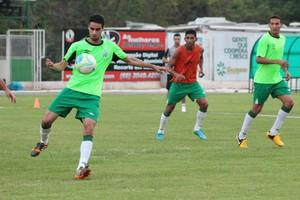 Luverdense treinos Série B 2014 (Foto: Assessoria/Luverdense Esporte Clube)