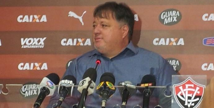 Anderson Barros diretor do Vitória (Foto: Ruan Melo)