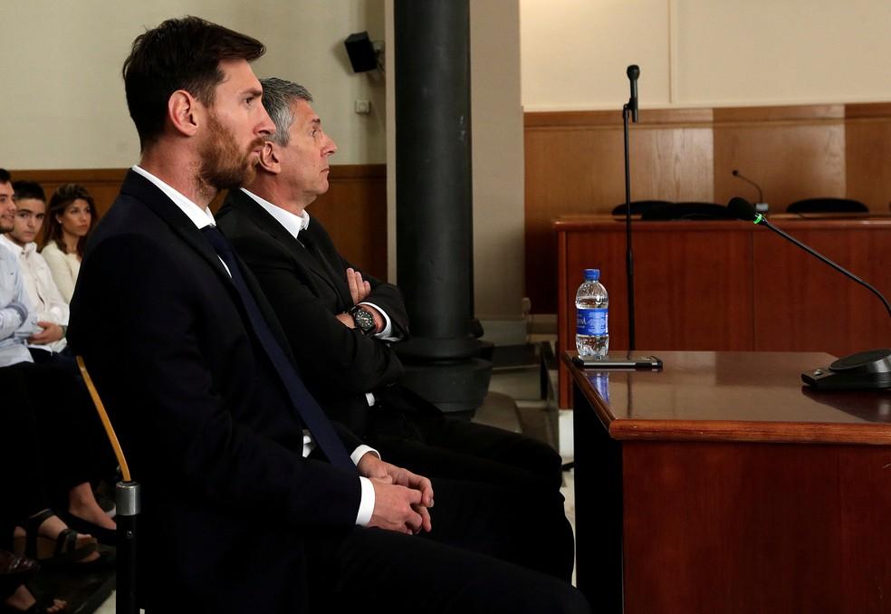 Lionel Messi Tribunal (Foto: Reuters)