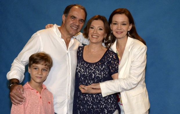 Humberto Martins, Natalia do Valle e Julia Lemmertz (Foto: Roberto Teixeira/EGO)