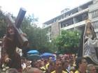 Procissão do Senhor dos Passos leva cerca de 1.500 fiéis às ruas de Belém