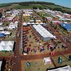 G1 faz passeio de drone na feira do agronegócio (Reprodução)