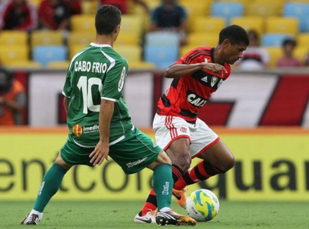 Flamengo x Cabofriense (Foto: divulgação / reprodução)