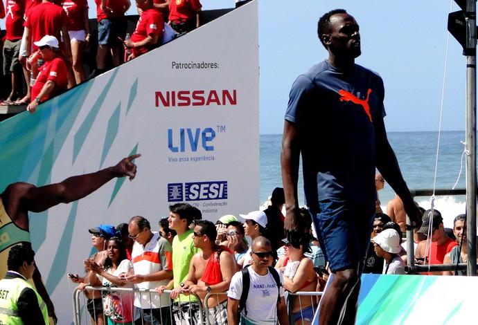 atletismo Usain Bolt contra o tempo (Foto: Helena Rebello)