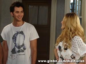 Ben se impressiona com Sofia (Foto: Malhação/TV Globo)