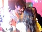 Mila Kunis comemora aniversário com Ashton Kutcher na Califórnia