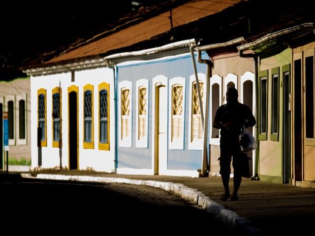 Cidade preserva estrutura de imóveis antigos. (Foto: Jonathan Lins/G1)