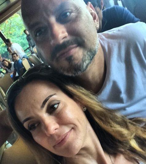 Flávia Monteiro e o marido, Avner Saragossy (Foto: Reprodução)