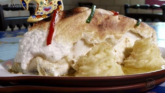 Preparado com ingredientes especiais: 'bacalhau à João do Dão' é dica do 'Segredos da Cozinha'