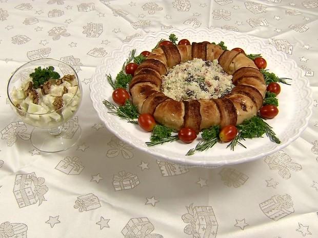 Pratos se complementam para fazer refeição completa (Foto: Reprodução/TV Tribuna)