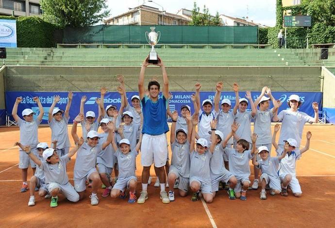 tênis Orlando Luz Orlandinho Trofeo Bonfiglio (Foto: Reprodução Facebook)