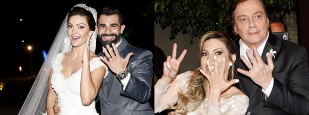Paredão dos casamentos (Foto: Marco Serra Lima e Rafael Cusato / EGO)