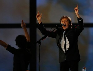 Paul McCartney abertura olimpíadas 2012 Londres (Foto: Reuters)