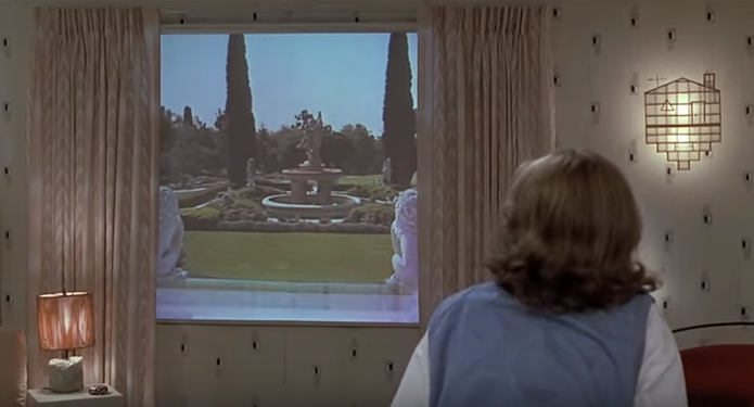 Até as janelas de casa tinham computadores no filme (Foto: Reprodução/YouTube)