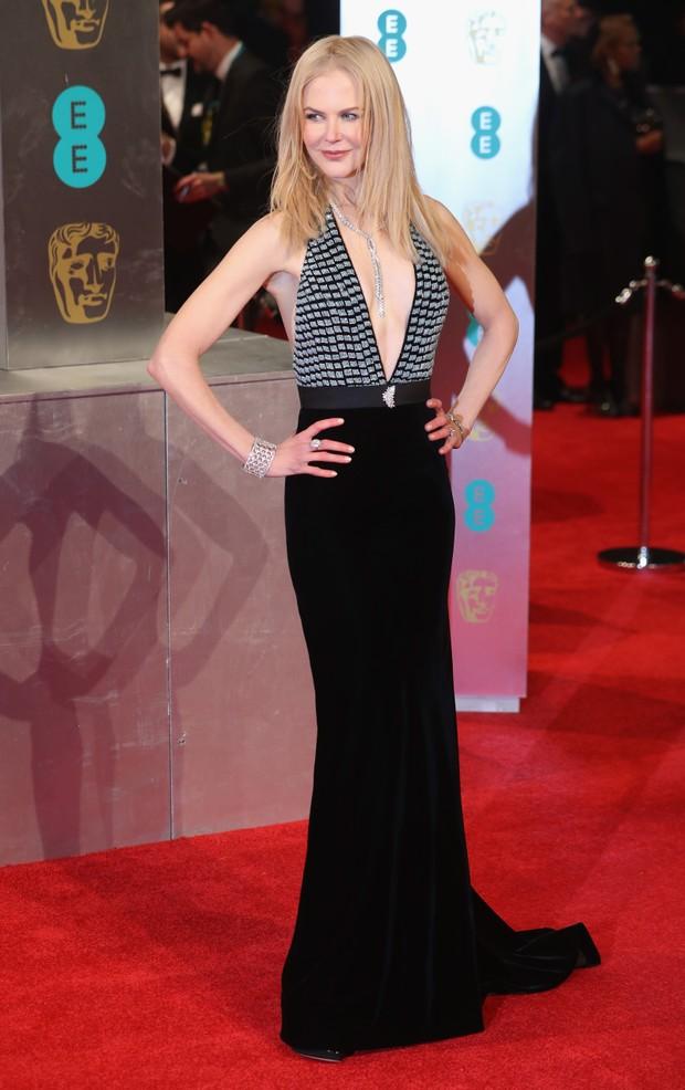 Nicole Kidman no BAFTA (Foto: Agência Getty Images)