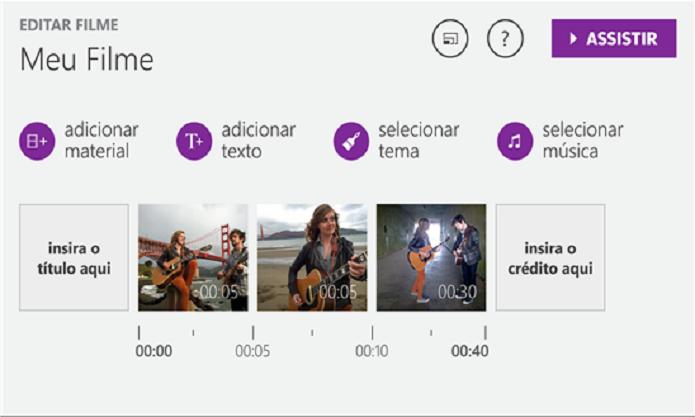 Movie Creator é um aplicativo completo para a criação e edição de vídeos (Foto: Divulgação/Windows Phone Store)