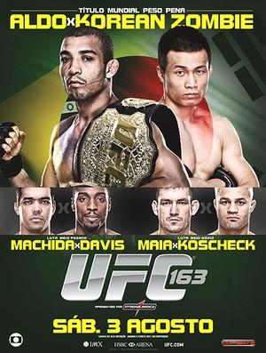 pôster UFC José Aldo (Foto: Divulgação / UFC)