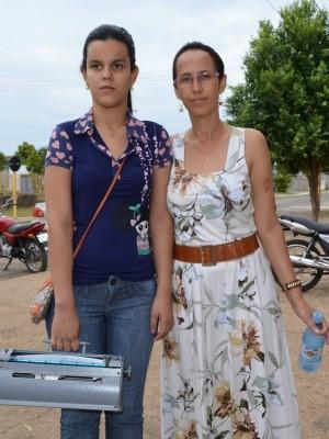 Laura tem 17 anos e quer cursar direito (Foto: Andréia Machado/G1)