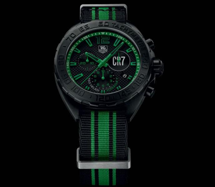 Novo relógio de CR7