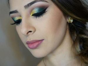 Maquiagem junina Juiz de Fora (Foto: Miriam Andrade/Arquivo Pessoal)