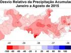Inverno chega ao fim com chuvas abaixo da média em Pernambuco