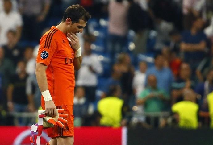 Casillas Real Madrid x Juventus (Foto: EFE)