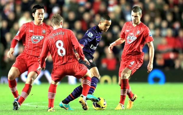 Walcott, Soton e Arsenal  (Foto: Getty Images)