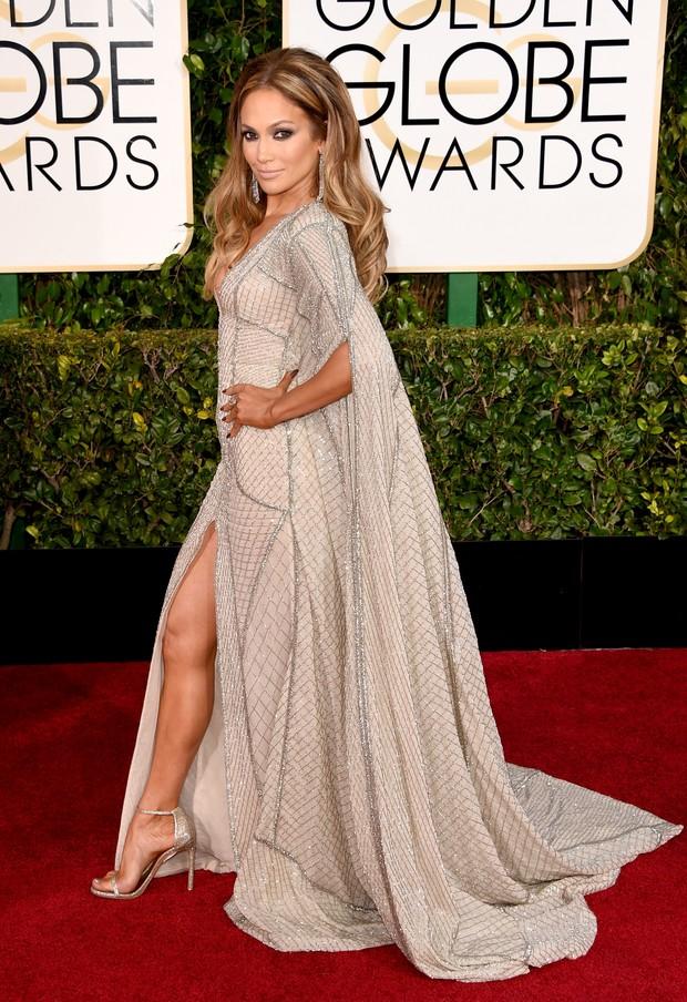 Globo de Ouro 2015 - Jennifer Lopez (Foto: Agência AFP)