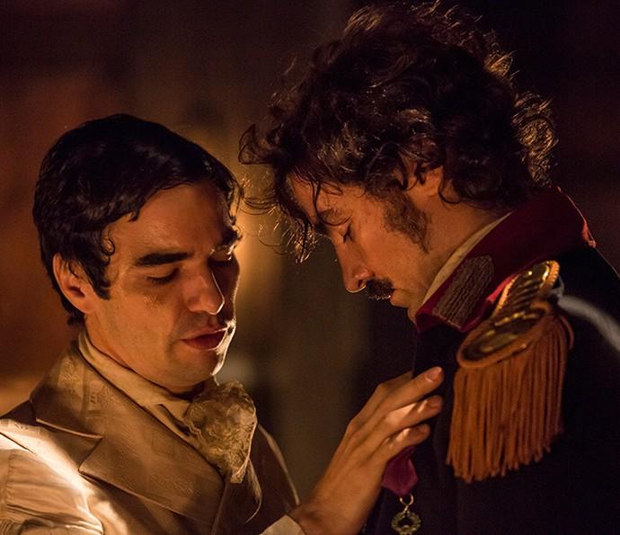 André e Tolentino (Foto: Felipe Monteiro/Gshow)
