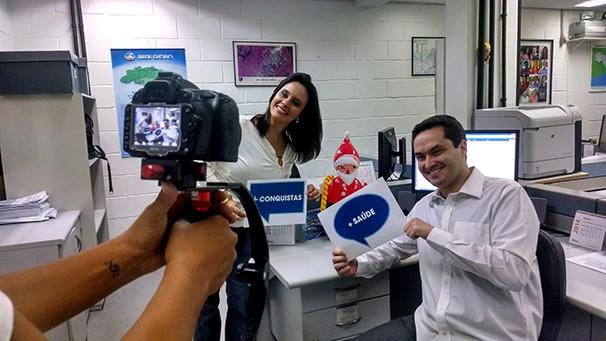 Especial fim de ano TV Vanguarda (Foto: Divulgação/ TV Vanguarda)