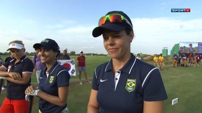 Melhores Momentos das Brasileiras Miriam Nagl e Victoria Lovelady no terceiro dia do Golfe