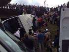 Onze pacientes de acidente com micro-ônibus em Içara são liberados
