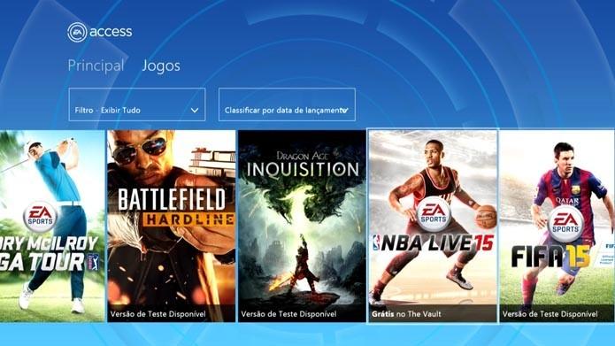 EA Access é uma das maiores vantagens do Xbox One (Foto: Divulgação/Eletronic Arts)