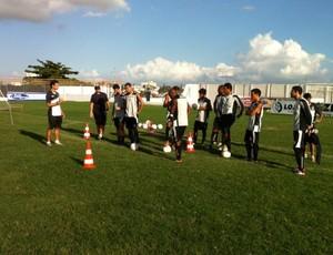 Treze treina no Estádio Presidente Vargas (Foto: Divulgação / Treze)