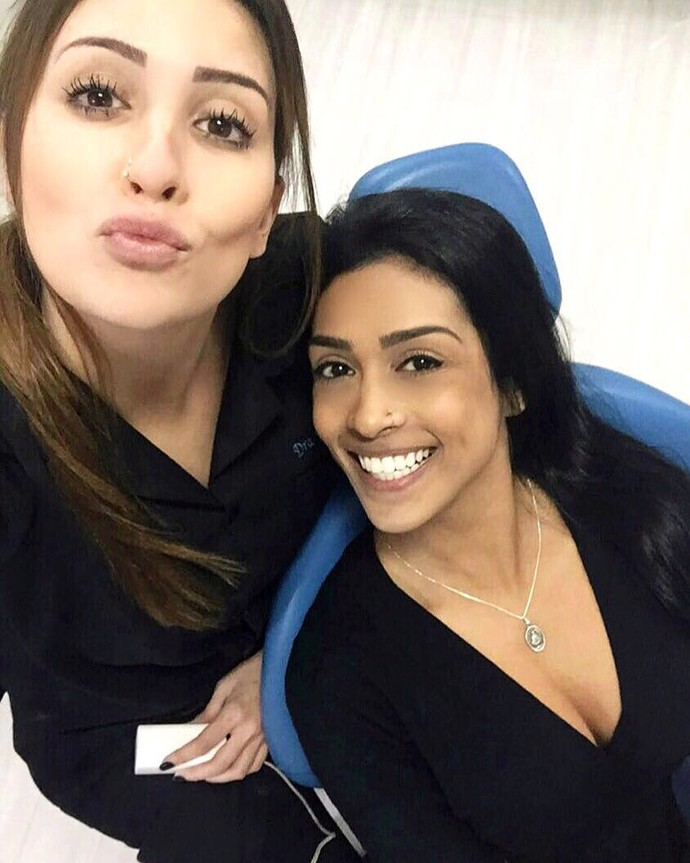 Ex-BBB Tamires Peloso e Amanda Djehdian (Foto: Arquivo Pessoal)