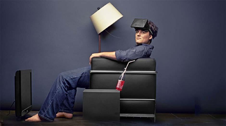 Palmer Luckey, criador do Oculus Rift (Foto: Reprodução)
