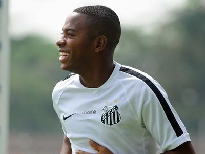 Robinho, atacante do Santos (Foto: Ivan Storti / Santos FC)