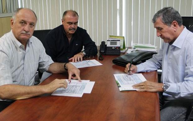 felipaoscolari parreira murtosa rafaelribeirocbf 390 Scolari anuncia hoje convocados para a Copa das Confederações