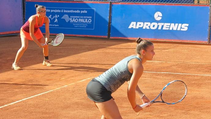 Paula Ormaechea, Stephanie Petit, argentinas, tênis, ITF Bauru (Foto: Bruno Freitas / BTC)