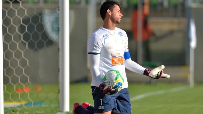 Fábio Atlético-MG x Cruzeiro (Foto: Douglas Magno)