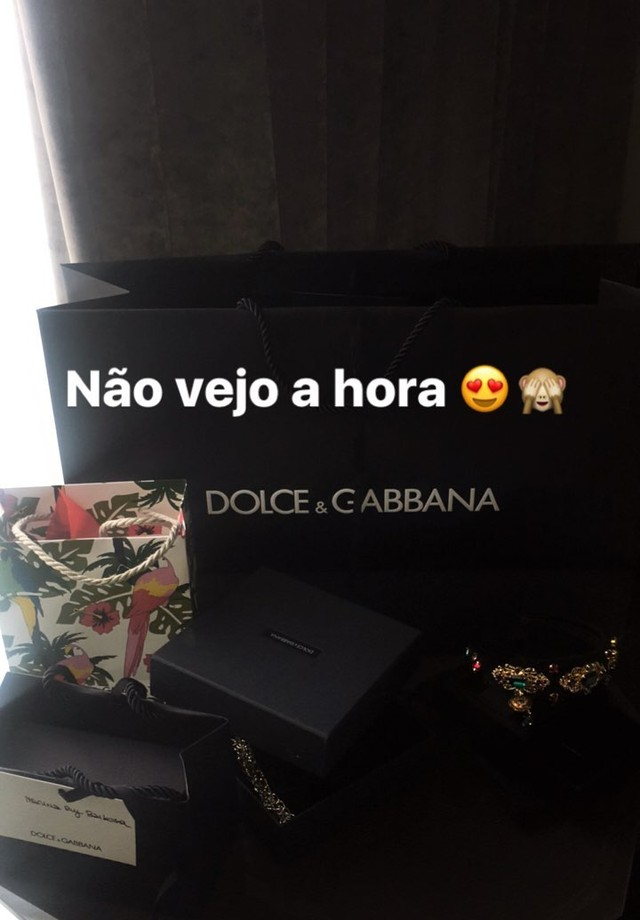 Marina Ruy Barbosa postou em seu stories (Foto: Reprodução/ Instagram)