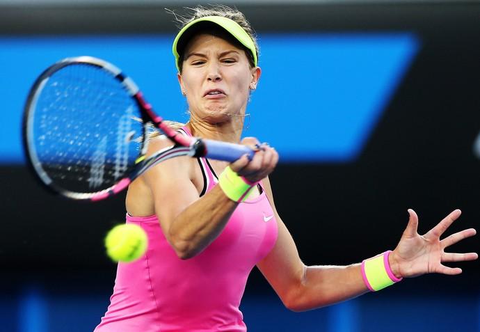eugene bouchard x Anna-Lena Friedsam tenis aberto da australia (Foto: Getty Images)